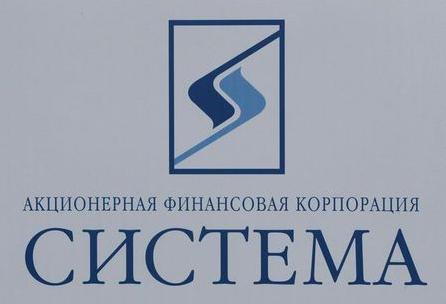The logo of Russian conglomerate Sistema is seen on a board at the St. Petersburg International Economic Forum 2017 (SPIEF 2017) in St. Petersburg, Russia, June 1, 2017. Picture taken June 1, 2017. REUTERS/Sergei Karpukhin