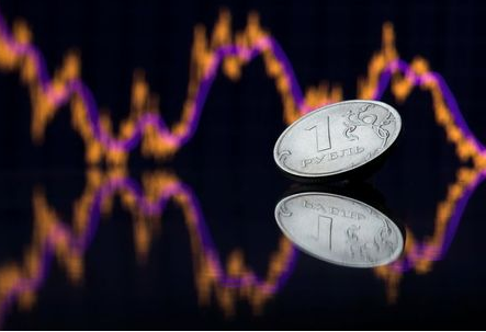 A view shows a Russian one rouble coin in this picture illustration taken October 26, 2018. Picture taken October 26, 2018. REUTERS/Maxim Shemetov