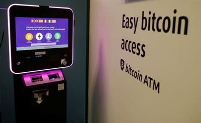 The exchange rates and logos of Bitcoin (BTH), Ether (ETH), Litecoin (LTC) and Bitcoin Cash (BCH) are seen on the display of a cryptocurrency ATM of blockchain payment service provider Vaerdex at the headquarters of Swiss Falcon Private Bank in Zurich, Switzerland May 29, 2019. REUTERS/Arnd Wiegmann