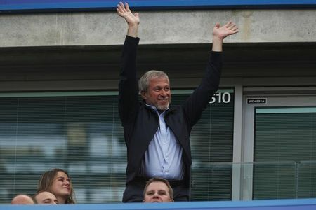 Britain Football Soccer - Chelsea v Sunderland - Premier League - Stamford Bridge - 21/5/17 Chelsea owner Roman Abramovich in the stands Action Images via Reuters / John Sibley Livepic EDITORIAL USE ONLY. No use with unauthorized audio, video, data, fixture lists, club/league logos or