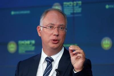 Cheif Executive Officer of Russian Direct Investment Fund Kirill Dmitriev attends a session of the St. Petersburg International Economic Forum (SPIEF), Russia June 7, 2019. REUTERS/Maxim Shemetov