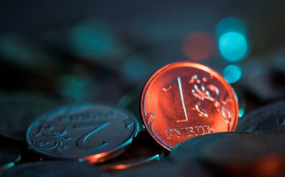 A view shows Russian rouble coins in this picture illustration taken October 26, 2018. Picture taken October 26, 2018. REUTERS/Maxim Shemetov