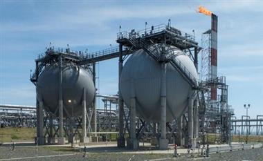 A general view of the liquefied natural gas plant operated by Sakhalin Energy at Prigorodnoye on the Pacific island of Sakhalin, Russia July 15, 2021. Picture taken July 15, 2021. REUTERS/Vladimir Soldatkin