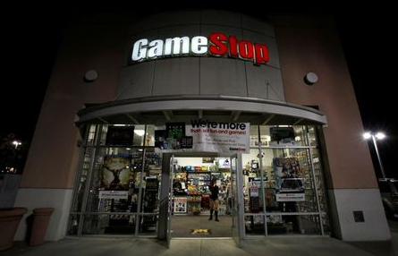 A GameStop store is pictured in Pasadena, California March 27, 2013. REUTERS/Mario Anzuoni/File Photo GLOBAL BUSINESS WEEK AHEAD PACKAGE - SEARCH 'BUSINESS WEEK AHEAD MAY 23's; FOR ALL IMAGES