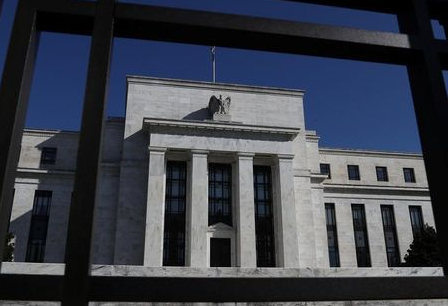 Federal Reserve Board building on Constitution Avenue is pictured in Washington, U.S., March 19, 2019. REUTERS/Leah Millis
