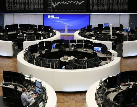 The German share price index DAX graph is pictured at the stock exchange in Frankfurt, Germany, November 11, 2020. REUTERS/Staff
