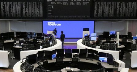 The German share price index DAX graph is pictured at the stock exchange in Frankfurt, Germany, December 28, 2020. REUTERS/Staff