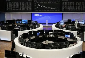 The German share price index DAX graph is pictured at the stock exchange in Frankfurt, Germany, November 23, 2020. REUTERS/Staff
