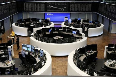 The German share price index DAX graph is pictured at the stock exchange in Frankfurt, Germany, January 12, 2021. REUTERS/Staff