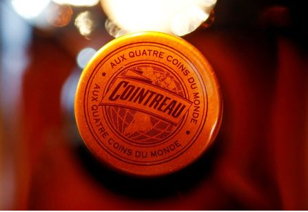 A bottle of Remy Cointreau is seen in this illustration picture, January 21, 2019. REUTERS/Regis Duvignau/Illustration