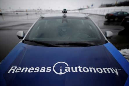 A self-driving car is parked at the Renesas Electronics autonomous vehicle test track in Stratford, Ontario, Canada, March 7, 2018. Picture taken March 7, 2018. REUTERS/Mark Blinch