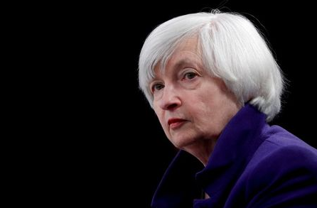 FILE PHOTO: U.S. Treasury Secretary Janet Yellen, the former Federal Reserve chair, holds a news conference after a two-day Federal Open Market Committee (FOMC) meeting in Washington, U.S. December 13, 2017. REUTERS/Jonathan Ernst/File Photo