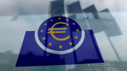 FILE PHOTO: The European Central Bank (ECB) logo in Frankfurt, Germany, January 23, 2020. REUTERS/Ralph Orlowski//File Photo