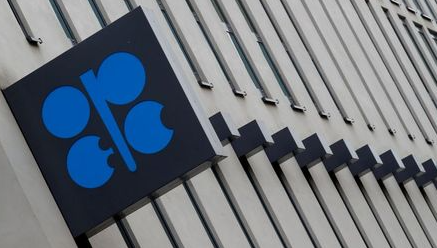 FILE PHOTO: The logo of the Organisation of the Petroleum Exporting Countries (OPEC) sits outside its headquarters ahead of the OPEC and NON-OPEC meeting, Austria December 6, 2019. REUTERS/Leonhard Foeger/File Photo