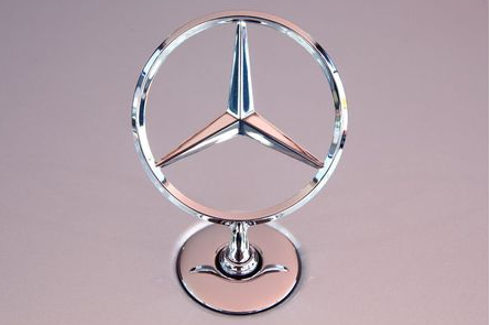 The Mercedes Benz star is seen on the bonnet of a new Mercedes-Benz S-Class limousine at the company's test center, near Immendingen, Germany October 14, 2020. Picture taken October 14, 2020. REUTERS/Arnd Wiegmann