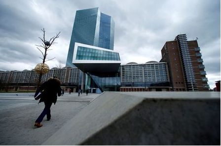 FILE PHOTO: FILE PHOTO: European Central Bank (ECB) headquarters building is seen in Frankfurt, Germany, March 7, 2018. REUTERS/Ralph Orlowski/File Photo/File Photo
