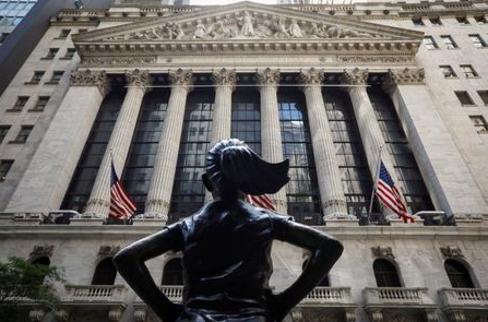 The front facade of the New York Stock Exchange (NYSE) is seen in New York City, New York, U.S., June 26, 2020. REUTERS/Brendan McDermid