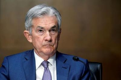 FILE PHOTO: Federal Reserve Chairman Jerome Powell testifies before the Senate on Capitol Hill in Washington, U.S., December 1, 2020. Susan Walsh/Pool via REUTERS