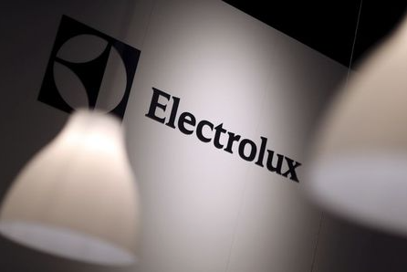 FILE PHOTO: The Electrolux logo is seen during the IFA Electronics show in Berlin, Germany September 4, 2014. REUTERS/Hannibal Hanschke