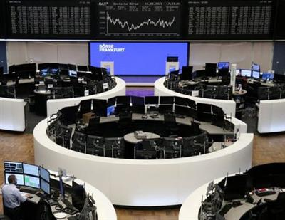 The German share price index DAX graph is pictured at the stock exchange in Frankfurt, Germany, May 10, 2021. REUTERS/Staff