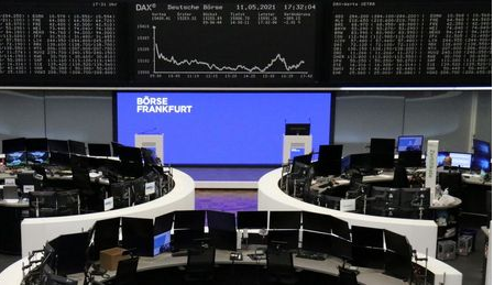 The German share price index DAX graph is pictured at the stock exchange in Frankfurt, Germany, May 11, 2021. REUTERS/Staff