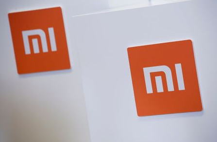 FILE PHOTO: Xiaomi logos are seen during a news conference in Hong Kong, China June 23, 2018. REUTERS/Bobby Yip