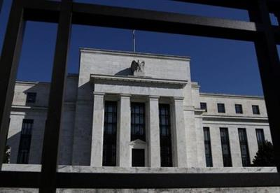 FILE PHOTO: Federal Reserve Board building is pictured in Washington, U.S., March 19, 2019. REUTERS/Leah Millis