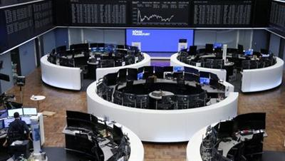 The German share price index DAX graph is pictured at the stock exchange in Frankfurt, Germany, June 2, 2021. REUTERS/Staff
