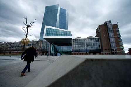 European Central Bank (ECB) headquarters building is seen in Frankfurt, Germany, March 7, 2018. REUTERS/Ralph Orlowski