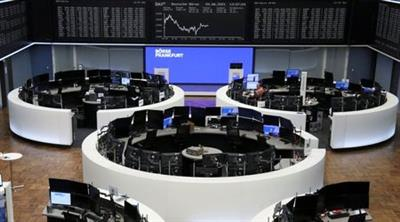 The German share price index DAX graph is pictured at the stock exchange in Frankfurt, Germany, June 4, 2021. REUTERS/Staff