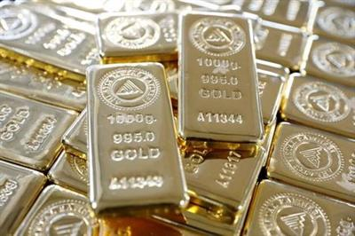 1 kg. gold bars are seen on a production line in Ahlatci Metal Refinery in the central Anatolian city of Corum, Turkey, May 11, 2017. Picture taken May 11, 2017. REUTERS/Umit Bektas/File photo