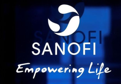 The logo of Sanofi is seen at the company's headquarters in Paris, France, April 24, 2020. REUTERS/Charles Platia