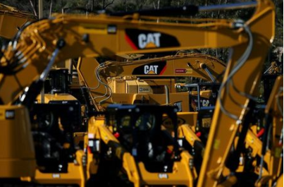 FILE PHOTO: Caterpillar Inc. equipment is on display for sale at a retail site in San Diego, California, U.S., March 3, 2017. REUTERS/Mike Blake/File Photo