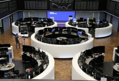 The German share price index DAX graph is pictured at the stock exchange in Frankfurt, Germany, July 20, 2021. REUTERS/Staff/File photo