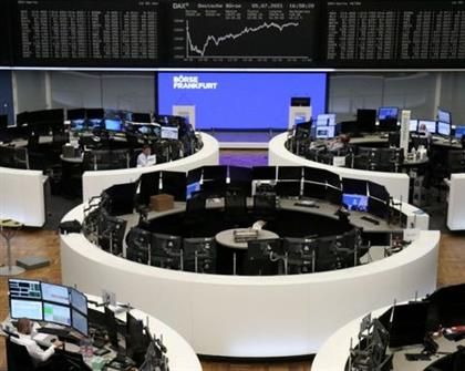 The German share price index DAX graph is pictured at the stock exchange in Frankfurt, Germany, July 5, 2021. REUTERS/Staff