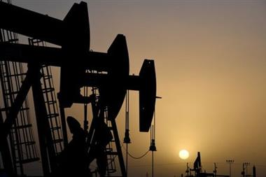 FILE PHOTO: Pump jacks operate at sunset in Midland, Texas, U.S., February 11, 2019. Picture taken February 11, 2019. REUTERS/Nick Oxford/File Photo