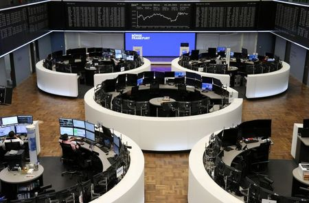 The German share price index DAX graph is pictured at the Frankfurt Stock Exchange, Germany August 4, 2021. REUTERS/Staff