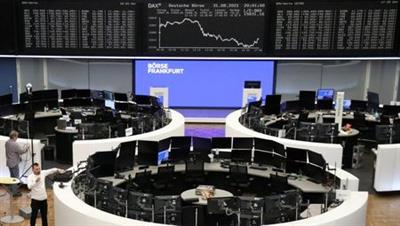 The German share price index DAX graph is pictured at the stock exchange in Frankfurt, Germany August 31, 2021. REUTERS/Staff