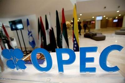 FILE PHOTO: The OPEC logo pictured ahead of an informal meeting between members of the Organization of the Petroleum Exporting Countries (OPEC) in Algiers, Algeria, September 28, 2016. REUTERS/Ramzi Boudina/File Photo