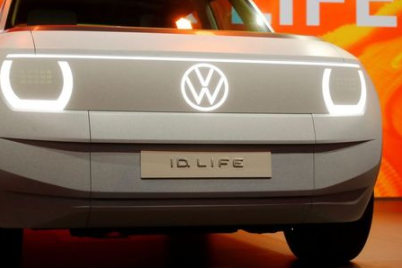 Volkswagen ID. Life car is seen during a presentation ahead of the Munich Motor Show IAA Mobility 2021 in Munich, Germany, September 6, 2021. REUTERS/Wolfgang Rattay