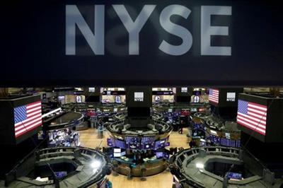 FILE PHOTO: The floor of the the New York Stock Exchange (NYSE) is seen after the close of trading in New York, U.S., March 18, 2020. REUTERS/Lucas Jackson/File Photo