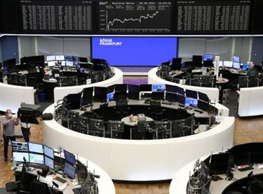 The German share price index DAX graph is pictured at the stock exchange in Frankfurt, Germany, September 9, 2021. REUTERS/Staff