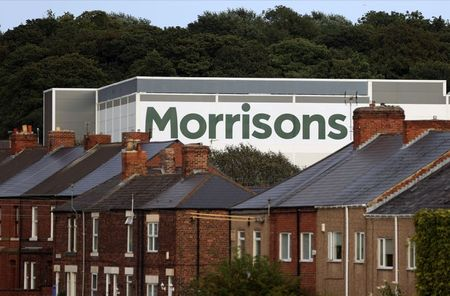 A view of a Morrisons supermarket in Birtley, Britain August 16 2021. Picture taken August 16 2021. REUTERS/Lee Smith