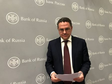 Kirill Tremasov, head of monetary policy department at the Bank of Russia, poses for a picture in Moscow, Russia March 31, 2021. Picture taken March 31, 2021. REUTERS/Andrey Ostroukh