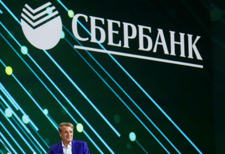 Chief Executive of Russian bank Sberbank Herman Gref attends a session of the St. Petersburg International Economic Forum (SPIEF), Russia June 6, 2019. REUTERS/Maxim Shemetov