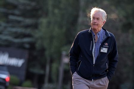 William 'Bill' Burns, president of the Carnegie Endowment for International Peace, attends the annual Allen and Co. Sun Valley media conference in Sun Valley, Idaho, U.S., July 11, 2019. REUTERS/Brendan McDermid