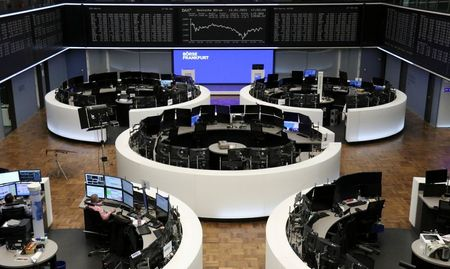 The German share price index DAX graph is pictured at the stock exchange in Frankfurt, Germany, January 11, 2021. REUTERS/Staff