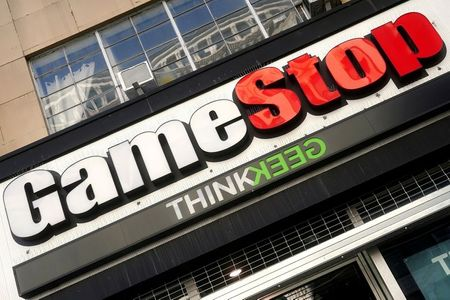 FILE PHOTO: A GameStop store is pictured in the Manhattan borough of New York City, New York, U.S., January 29, 2021. REUTERS/Carlo Allegri