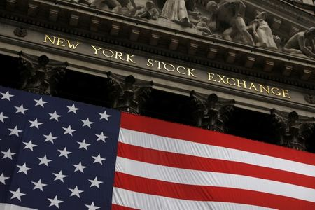 Signage is seen outside the New York Stock Exchange (NYSE) in Manhattan, New York City, U.S., August 9, 2021. REUTERS/Andrew Kelly